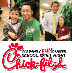 Special Thanks to Chick-fil-a and all SCS Families