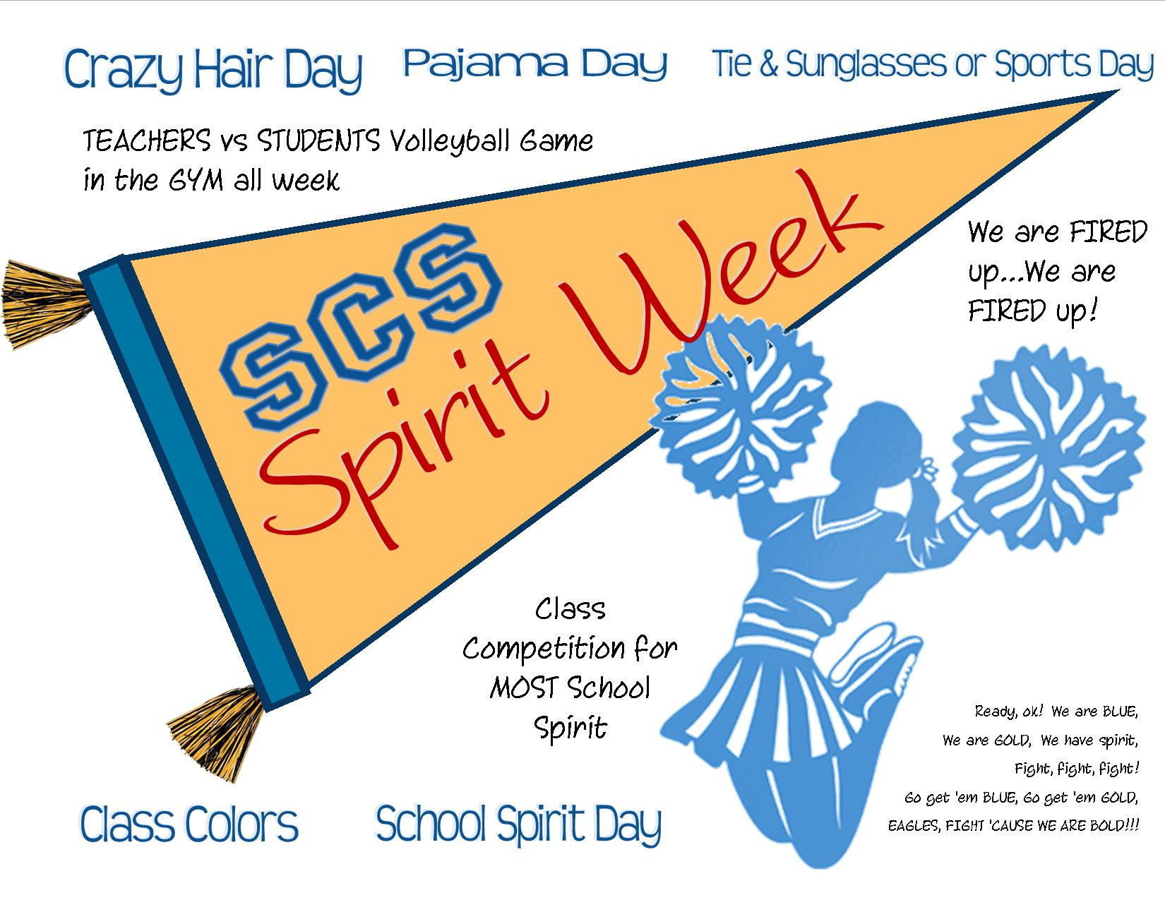 SPIRIT WEEK and HOMECOMING