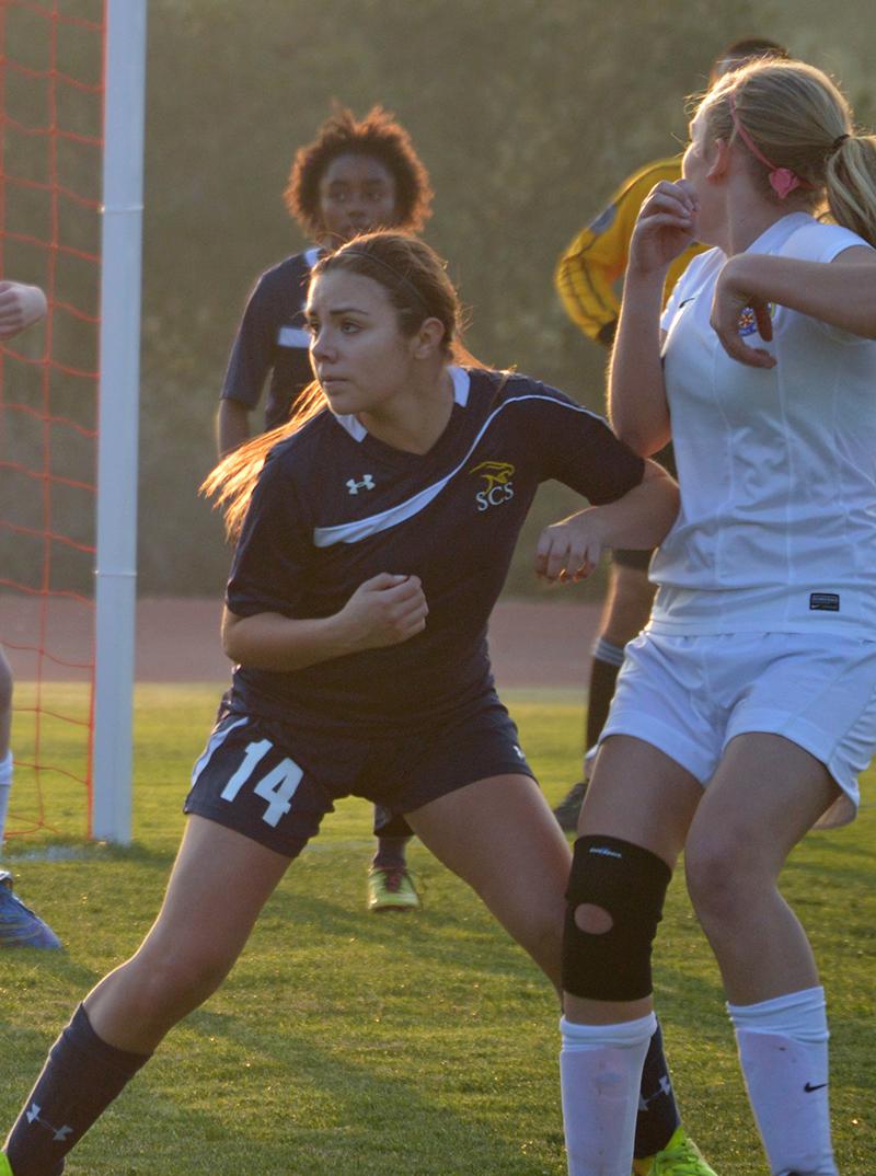 SCS Girls varsity soccer team