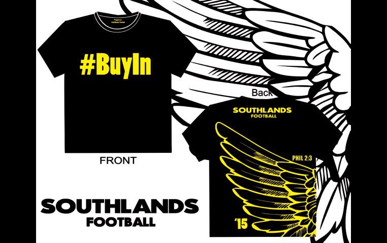 Southlands Football T-shirts