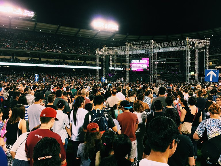 Experiencing The Harvest Crusade: A Reflection From Mr. Lee