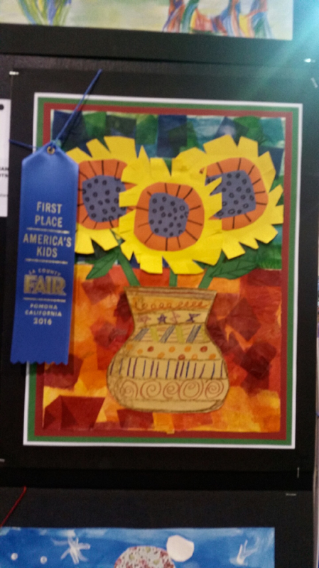 Southlands Art Students at the LA County Fair