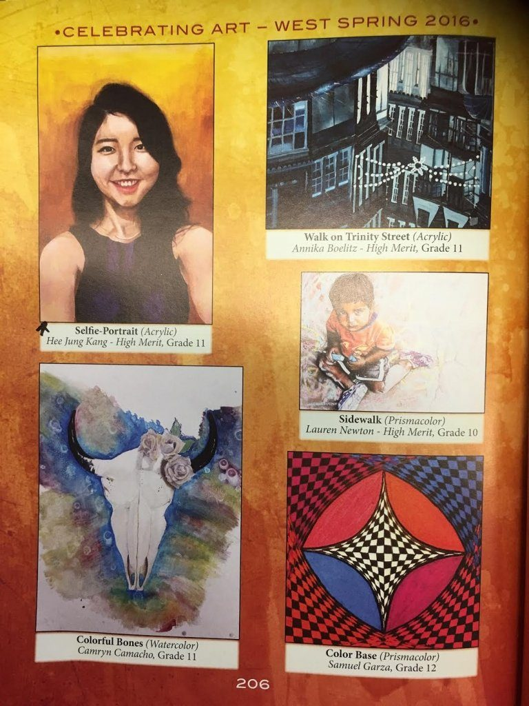 Southlands High School Art Students' Work Is Published