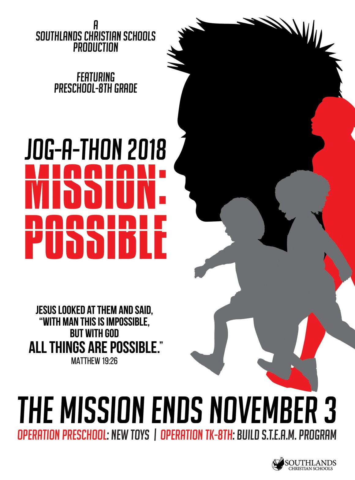 "JOG-A-THON 2018 ""MISSION: POSSIBLE"""