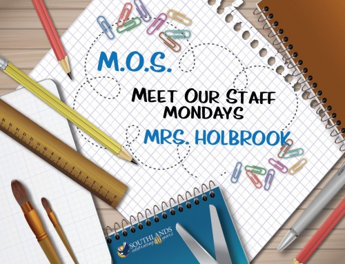 Meet Our Staff: Mrs. Holbrook