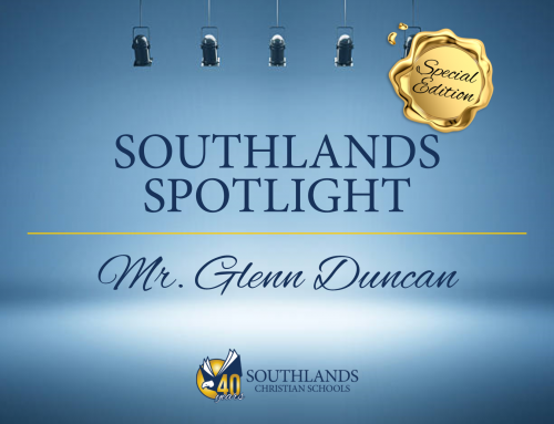 Southlands Spotlight: Mr. Glenn Duncan